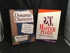 20 Master Plots -Tobias / Dynamic Characters – Kress Hardcover Writing Books Set Tobias, Writing A Book, First Love, Novels, Comic Books, Characters, Write A Book, First Crush, Figurines