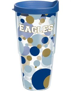 Collegiate   Georgia Southern University   Polka Dot Wrap with Lid   Tumblers, Mugs, Cups   Tervis