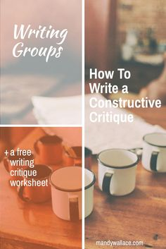 Matching with a writing group