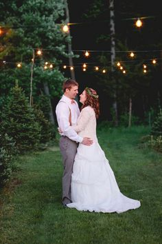 Kristina & Jeffery's intimate $5,000 wedding at a Christmas tree farm in Connecticut owned by the groom's grandparents