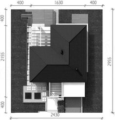 Casa moderna fara etaj in forma de L Interior Exterior, Willis Tower, Stairs, How To Plan, Building, Home Decor, Garden Ideas, Architects, Modern