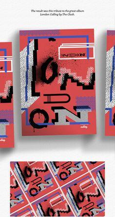 London Calling by DPIGS Design Studio , via Behance