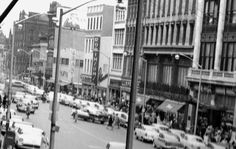 North pearl shopping district  1950s albany ny