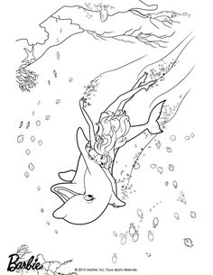 Coloring Pages Of Barbie Princess And The Popstar