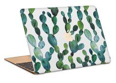 Wall Paper Computadora Cactus New Ideas Macbook Pro 15 Case, Macbook Air Cover, Macbook Skin, Macbook Laptop, Mac Laptop, Macbook Air Stickers, Apple Laptop, Cactus Print, Laptop Covers
