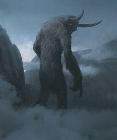 "fantasyartwatch: ""The Miststalker by Jaime Jones """