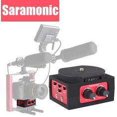 99.95$  Watch now - http://ali4kc.worldwells.pw/go.php?t=32453597485 - Saramonic SR-AX101 2-Channel Audio Mixer Microphone Adapter with XLR & 3.5mm Inteface for Canon Panasonic DSLR Camcorder 99.95$