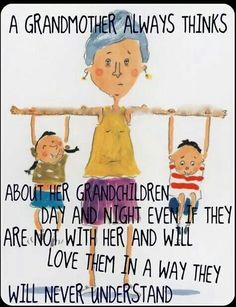 ... or, not completely anyway - until maybe MANY years later they become grandparents themselves ....