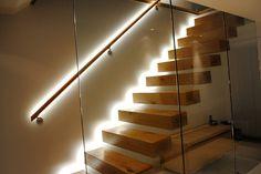 освещение подсветка лестницы своими руками diy