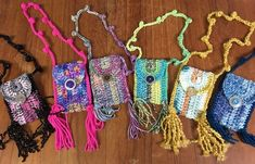 Small crocheted bags, made by my daughter! Operation Christmas Child, Shoe Box, Kids Christmas, Friendship Bracelets, Charity, Crochet Earrings, Crocheted Bags, Children, Daughter