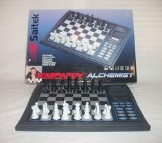 Kasparov Alchemist Chess Computer Electronic Game Travel | eBay