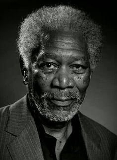 Morgan Freeman. Again, not hot..but so great!!