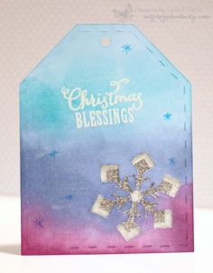 In My Creative Opinion: 25 Days of Christmas Tags - Day 13 and Your Turn!