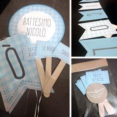 party kit battesimo personalizzato