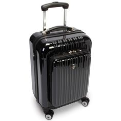 The Only Exterior Pocket Impervious Carry On - Hammacher Schlemmer