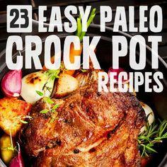 Easy Paleo Crock Pot Recipes - http://paleogrubs.com/crock-pot-recipes