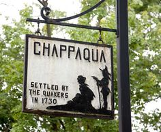 Living in Chappaqua, New York. Chappaqua is located in Westchester, NY, about one hour North of New York City.
