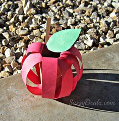 DIY Apple Toilet Paper Roll Craft for Kids - Crafty Morning Fall Crafts For Toddlers, Bible Crafts For Kids, Toddler Crafts, Preschool Crafts, Crafts To Make, Fun Crafts, Craft Kids, Preschool Apples, Children Crafts