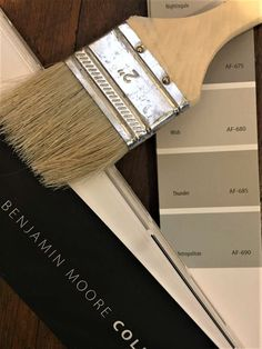 If you are tired of the same old gray paint colors check out BM Thunder. Benjamin Moore Thunder is the perfect mid-tone neutral gray paint color. Neutral Gray Paint, Best Gray Paint Color, Greige Paint Colors, Exterior Paint Colors, Grey Paint, Exterior Design, Benjamin Moore Thunder, Revere Pewter Benjamin Moore, Benjamin Moore Paint