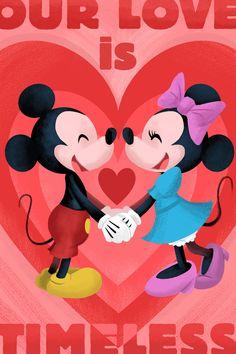 Tarjetas del día de San Valentín adorable Disney | Oh My Disney | Awww