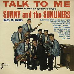 """Talk To Me"" (1963, Tear Drop) by Sunny And The Sunliners.  (See: http://www.youtube.com/watch?v=uVT24mNeXZU)"