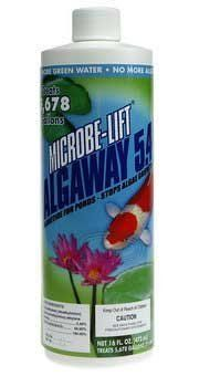 Algaway 5.4 16oz By BND by Pet. $30.66. Can be applied to areas containing fish and plants.16 oz.. Stops algae growth in ponds.. Ecological Labs [Microbe-Lift] - Algaway 5.4 16 ozControls string Algae.. Ecological Labs (Microbe-Lift) - Algaway 5.4 16 oz/Controls string Algae. Stops algae growth in ponds. Can be applied to areas containing fish and plants. 16 oz/