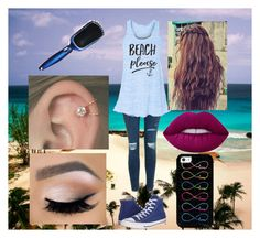 """""""Daughter of Poseidon (un-named)"""" by morgan-924 ❤ liked on Polyvore featuring Topshop, Converse, Lime Crime and tarte"""