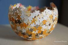 Bol de papel reciclado – Comando Craft