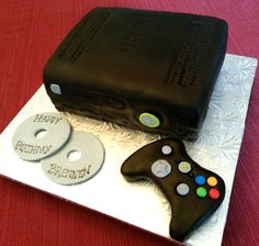 Xbox cake I made for my sons best friends 10th birthday It has