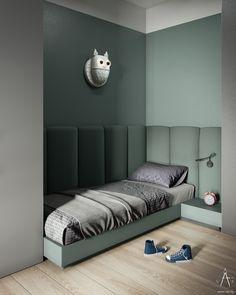 Kids Bedroom Designs, Kids Room Design, Home Room Design, Bed Design, Home Interior Design, Modern Kids Bedroom, Apartment Interior, Room Interior, Jugendschlafzimmer Designs