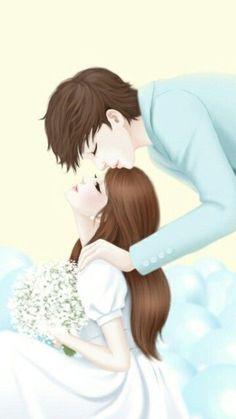 Imagen de love, kiss, and cute