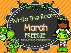 Write the room is a favorite in our room!! We hope you enjoy this little peak at our March Write the Room pack that will be posted soon!! Your kids will love roaming the room building St. Patrick Day sentences.:)