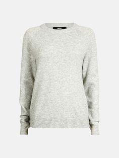Zoe sweater   7174499   Grå   BikBok   Norge