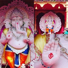 Ganesha made of paper, Alkapuri  Surat