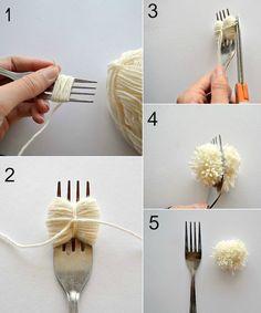DIY couture facile et astuces pour fabriquer des pompons