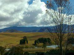 Beautiful, wide open spaces in Underberg area, KwaZuluNatal, South Africa