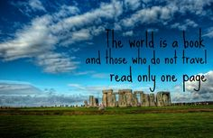 'The world is a book, and those who do not travel read only one page' - We love this inspirational travel quote by St Augustine Singapore City, Dubai City, Tour Quotes, Budapest City, Prague City, Athens City, Stockholm City, Sightseeing Bus, New York Tours