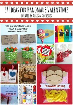 37 ideas for handmade valentines