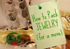 How to Pack Jewelry {Tips for the DIY Move} - Authentic Simplicity