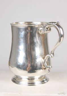 Silver mug....made by Paul Revere