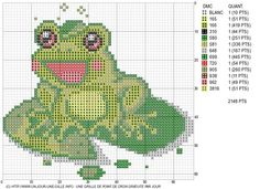 pinterest counted cross stitch charts | Found on un-jour-une-grille.over-blog.com
