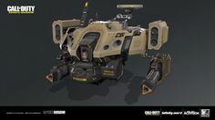 ArtStation - Call of Duty: Infinite Warfare - SDF Drone, Natalia Galantseva