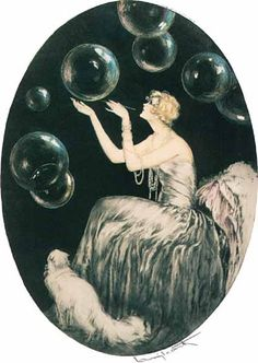 The Bubbles, 1930 - Louis Icart.