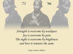 Tupac Shakur poems