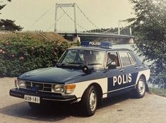 Saab 99 from the Finland's Historical Perspective Saab Turbo, Old Police Cars, Emergency Vehicles, Police Vehicles, Couple Photography Poses, Friend Photography, Maternity Photography, Family Photography, Saab 900