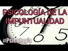 Liked on YouTube: Psicologia de la Impuntualidad | #PSICOLOGIA https://youtu.be/ybdYnqAbzLs  June 25 2017 at 02:20AM