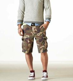 American Eagle Outfitters for Men | Shorts: Men's Shorts | American Eagle Outfitters on Wanelo