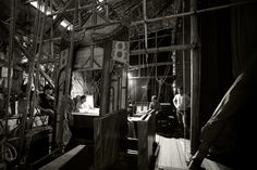 west kowloon bamboo theater backstage