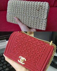 Handmade Bag from Raffia Palm - Crochet bag with love Crochet Handbags, Crochet Purses, Crochet Coat, Bobble Stitch, Single Crochet Stitch, Discount Purses, Crochet Stitches Patterns, Custom Bags, Knitted Bags