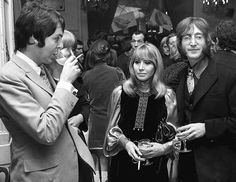 Paul, Cynthia and John, 1968